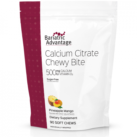 Calcium Citrate Chewy Bites 500mg